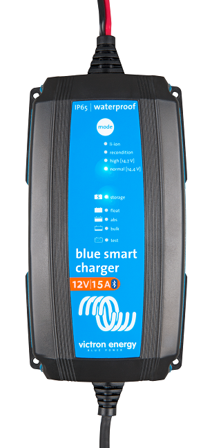 Blue Smart IP65 Charger 12/15 with DC connector